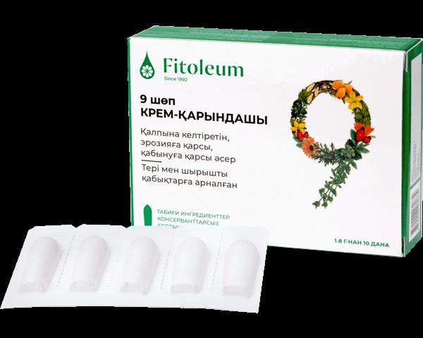 Fitoleum 9 шөп крем-қарындаш