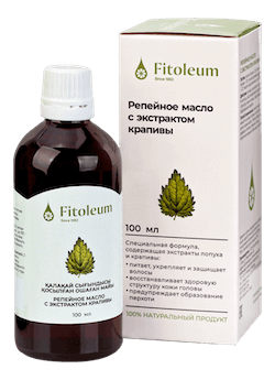 Fitoleum Burdock oil with nettle extract