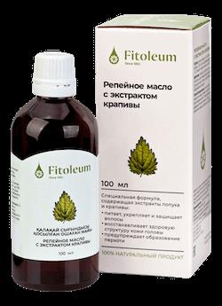 Фитолеум Репейное масло с экстрактом крапивы