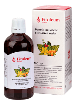 Fitoleum Burdock oil with Kyzyl may